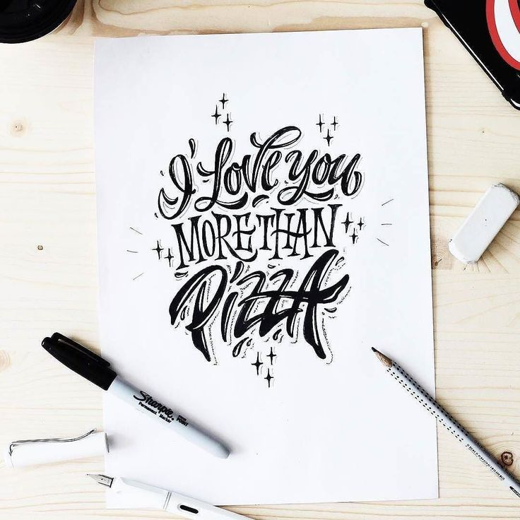 True declaration of love. Type by @kirillrichert   #typegang if you would like to be featured   typegang.com by type.gang
