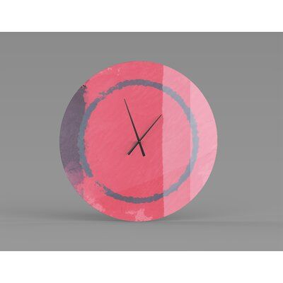 East Urban Home Corinne Wall Clock Size: Large