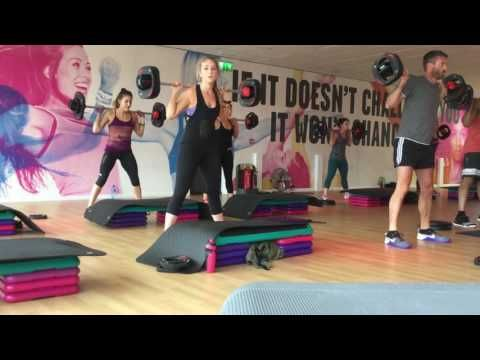 Holly Gardiner Les Mills Body Pump 97 12/5/16 - YouTube