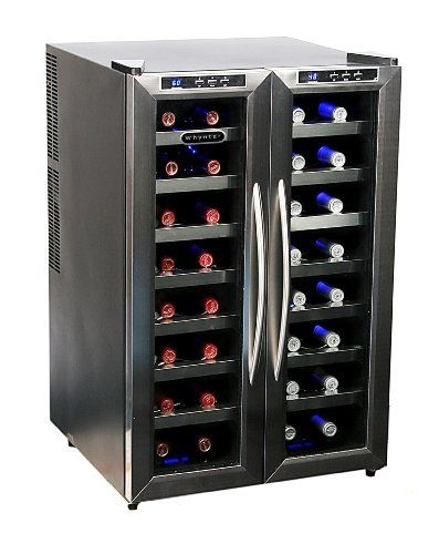 ##Cheap Best Price Whynter WC-321DD 32 Bottle Dual Temperature Zone Wine Cooler for Sale Low Price | ishop