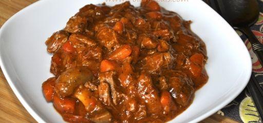 Lekkere Hongaarse goulash en goulash-soep