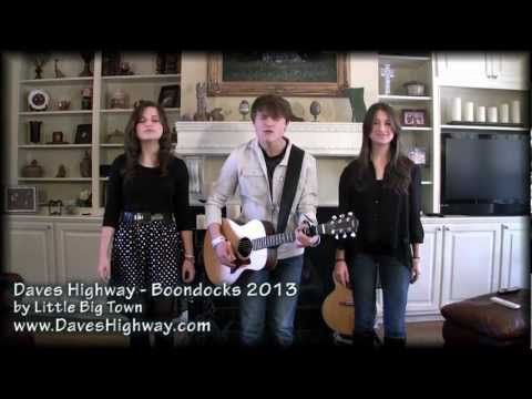 ▶ Daves Highway - Boondocks - Little Big Town - 2013 - YouTube