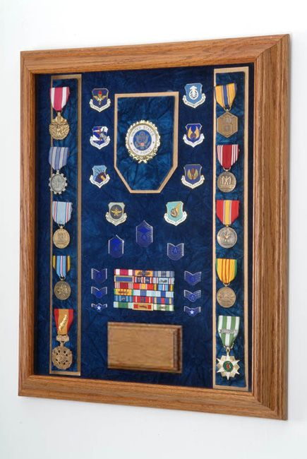 Military Award / Medal Display Case for my Gramp's WWII medals