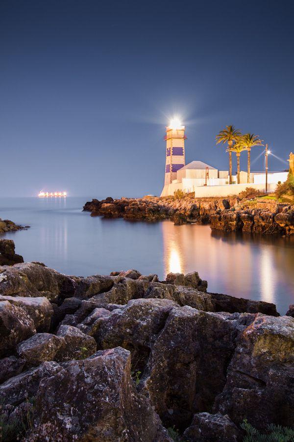 #Lighthouse Farol de Cascais #Portugal