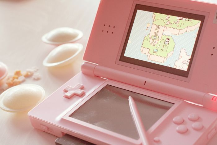 Nintendo ds recoditionnée pink pink