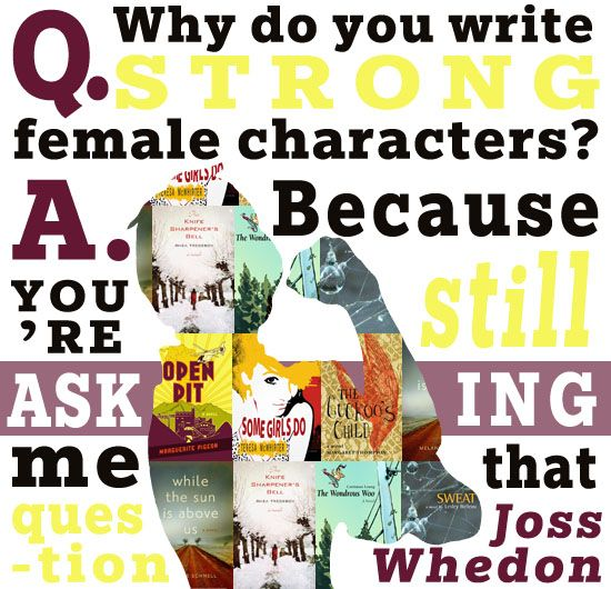 Quoted: Strong Female Characters