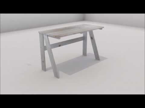 Mesa de estudio - MueblesLUFE