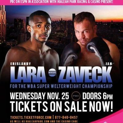 ERISLANDY LARA KNOCKS OUT JAN ZAVECK IN THIRD ROUND OF PREMIER BOXING CHAMPIONS ON ESPN FIGHT CARD & VIDEO HIGHLIGHTS