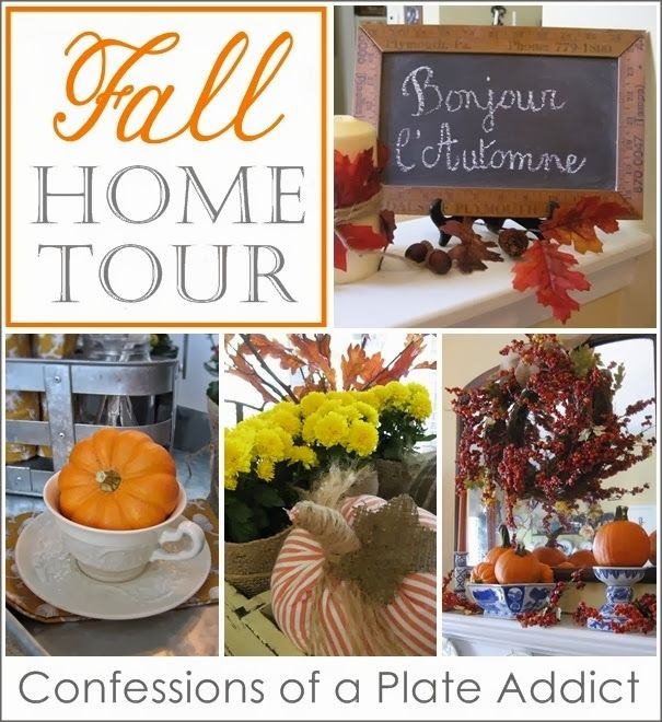 Confessions Of A Plate Addict's Fall Home Tour