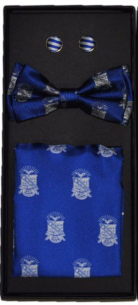 Phi Beta Sigma Bow Tie Box Set