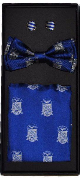 Phi Beta Sigma Bow Tie Box Set