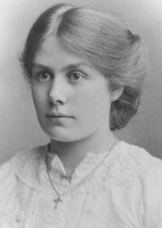 edwardian, an informal hairstyle. How a working woman would have worn her hair.