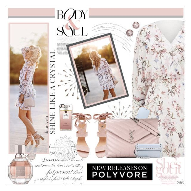 """""""BODY & SOUL: New Releases"""" by polyvore-suzyq ❤ liked on Polyvore featuring Stratton Home Décor, Forever New, Casetify, Viktor & Rolf, Samsung, Yves Saint Laurent, Marc Jacobs and Valentino"""