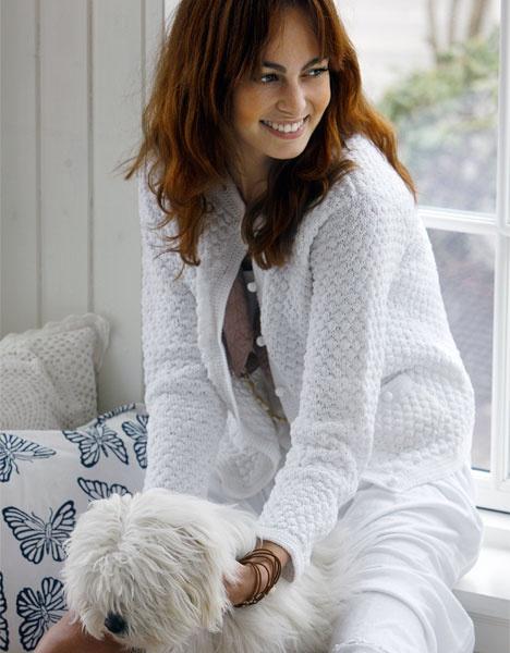 Rigtig fin strikket/hæklet trøje