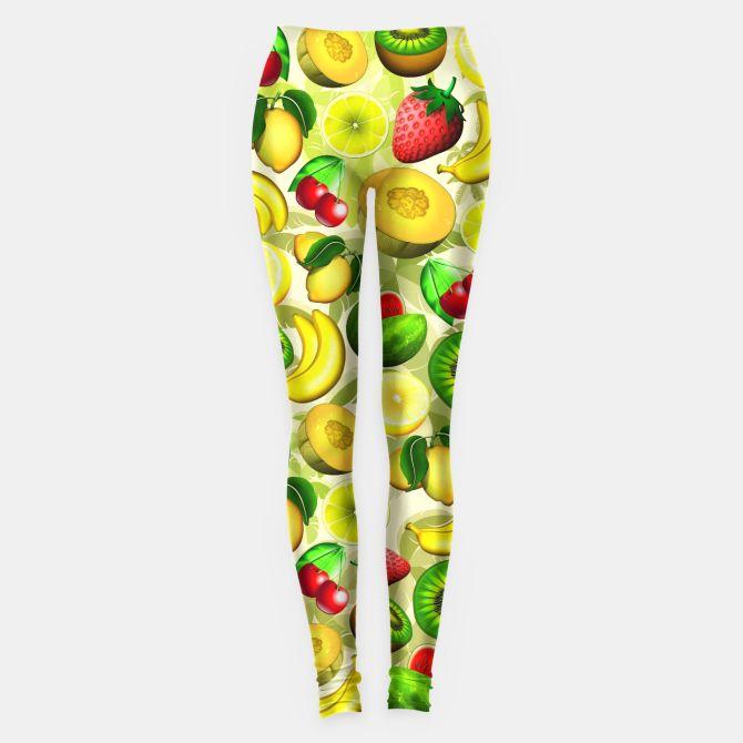Summer Fruits Juicy Pattern  Leggings