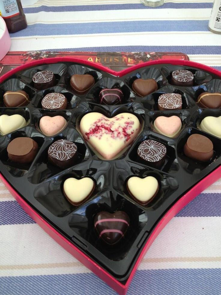Thorntons chocolates are the best chocolates