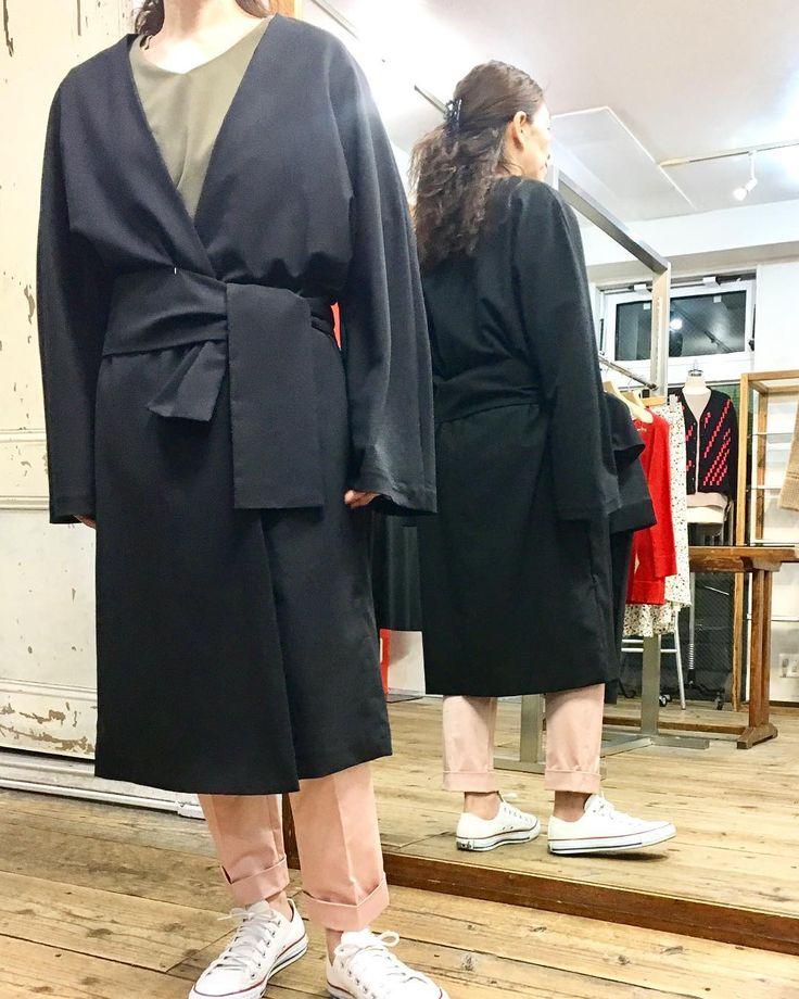 ガウンコートも 男前に着てみよう詳しくはホームページpickupにて #2017fashion #springfashion #coordinate #todayslook #knitwear #tokyo #japan #urbanchics #urbanstyle #アラフィフ #アラフィフコーデ #アラフォー #アラフォーコーデ #東京#調布市#国領#アーバンチックス#ニットブランド