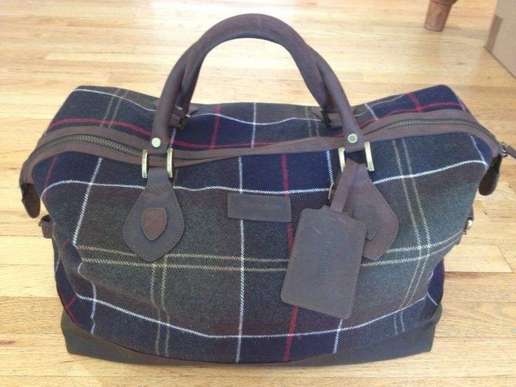 Gifts for Guys - Barbour Bag at Oxford Shop $395