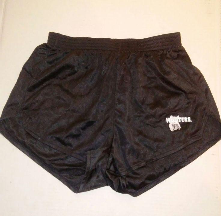 Hooters Women Black Shorts extra small and Small #Hooters #MiniShortShorts