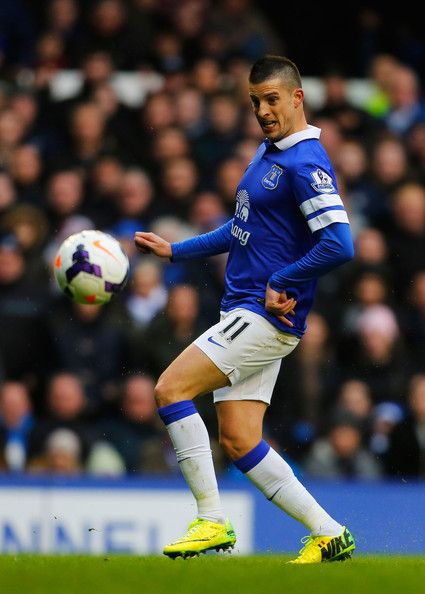 Kevin Mirallas of Everton in 2014.