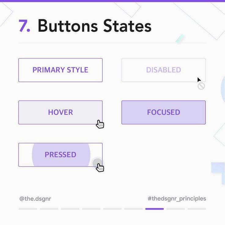 8 Important Rules For Perfect Button Design