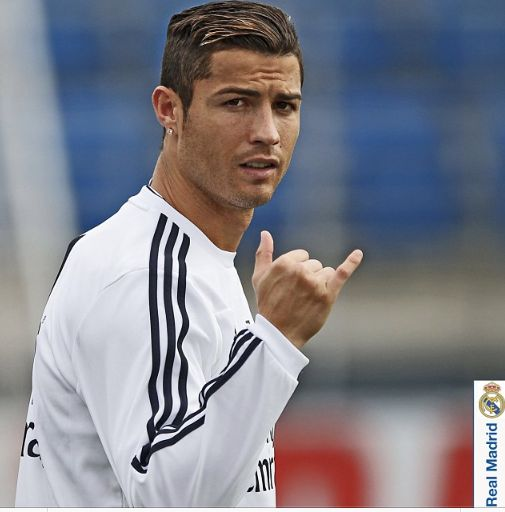 Cristiano Ronaldo  Real Madrid Training