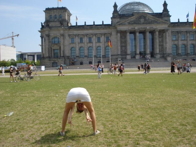 Reichstag and me!