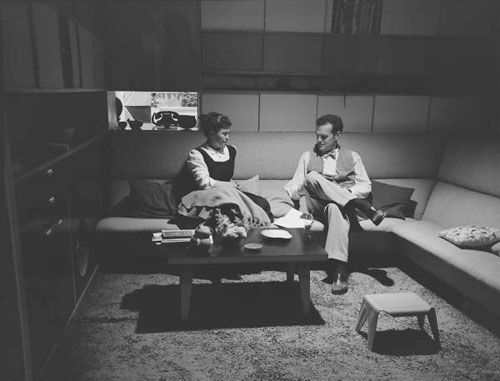charles ray eames in life magazine eames designs artists living spaces pinterest home. Black Bedroom Furniture Sets. Home Design Ideas