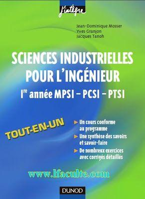 la facult sciences industrielles pour lingnieur