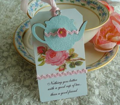 Pinkbuttercreme handmade & vintage: Tea Party Favors