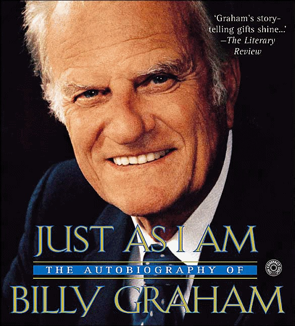 I grew up watching Billy Graham on tv with my grandmothers when I was with them. We have this book and it is one of the best we've ever read. Any book by him or his family is awesome.