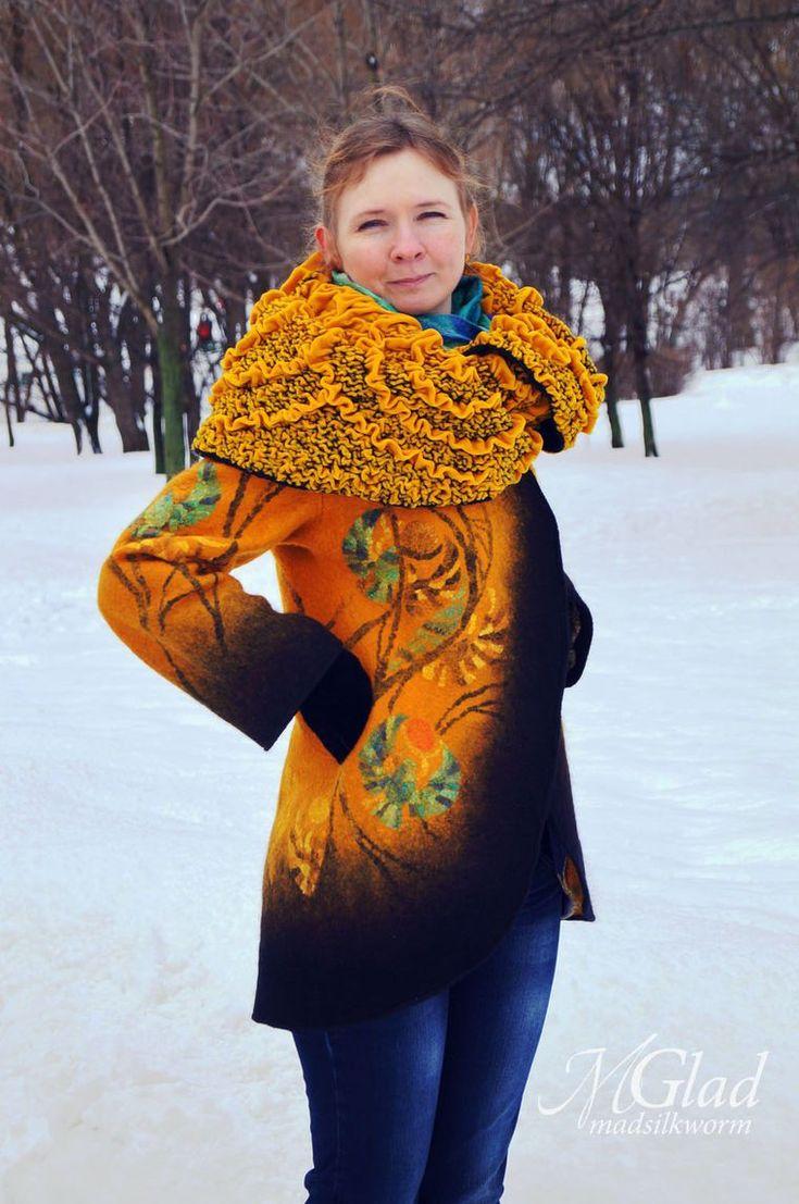 Пальто-кокон к 8 Марта! Флешмоб-конкурс! ЧАСТЬ 3 - Ярмарка Мастеров - ручная работа, handmade