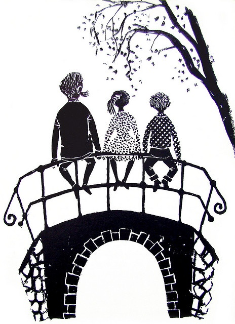 """From """"Wiplala"""" written by Annie M.G. Schmidt, illustrated by Jenny Dalenoord, Holland, 1958. My favorite Book in Childhood"""