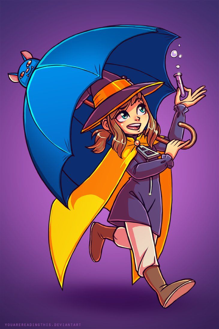 Hatty Halloween By Youarereadingthis A Hat In Time Fanart A Hat In Time Art Hat In Time Art