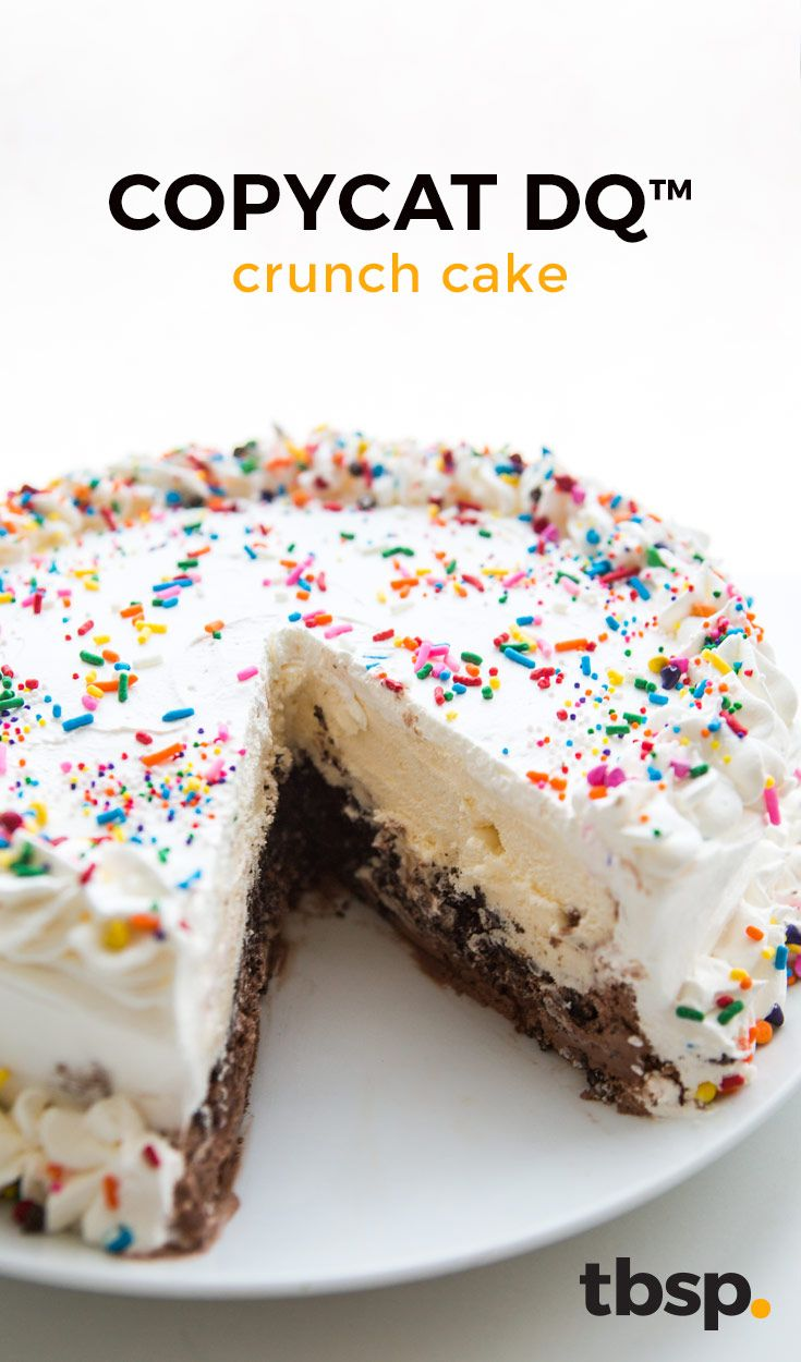 We all scream for ice cream (cake). Keep the oven off and make this simple DIY ice cream cake that tastes just like the real thing.