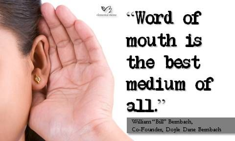 Word Of Mouth Quotes Like Success