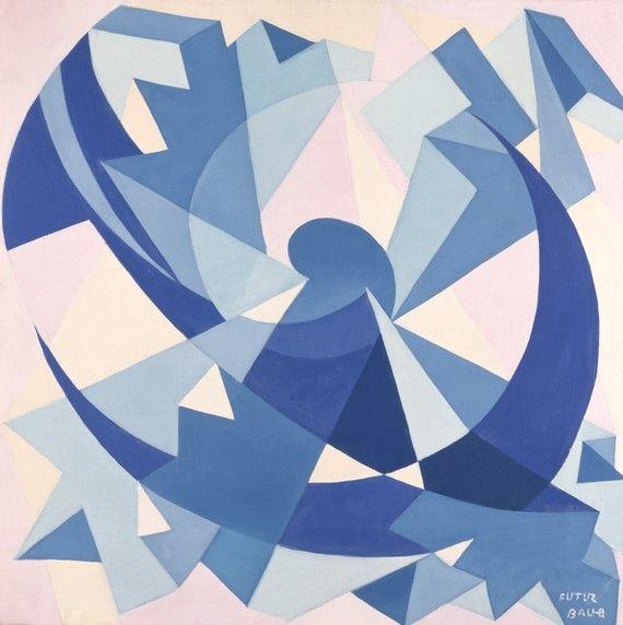 artmastered:  Giacomo Balla, Aeronoise, c.1923