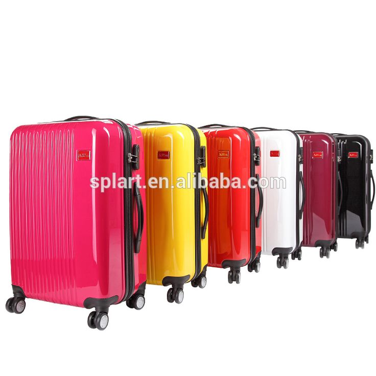 "Wholesale high quality 20"" 24"" 28'' ABS eminent best trolley luggage suitcase"