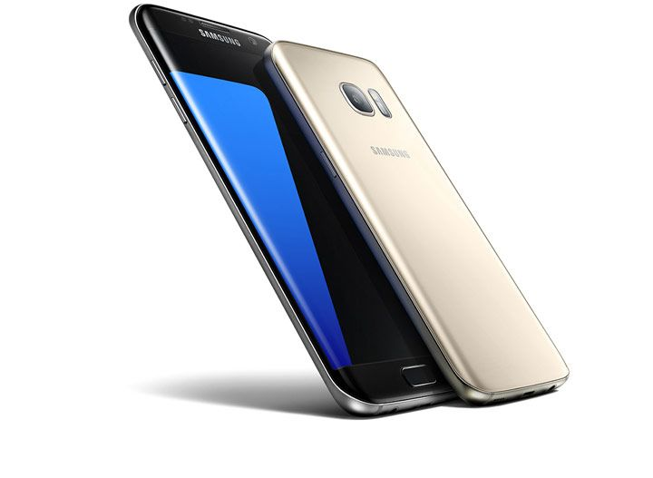 Realtà virtuale ... Preorder key visual image for Galaxy S7 and S7 edge