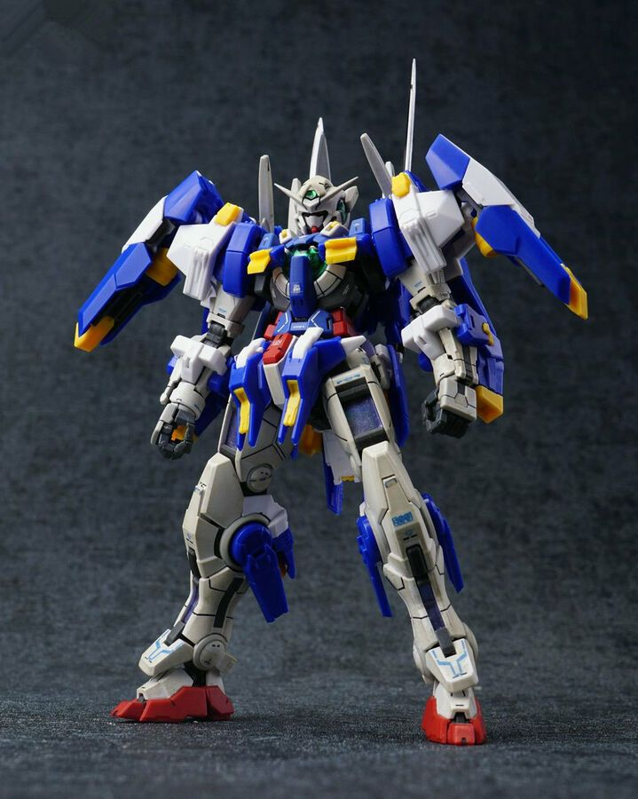 Effectswings Avalanche modified parts for Bandai RG 1//144 GN-001 Exia Gundam