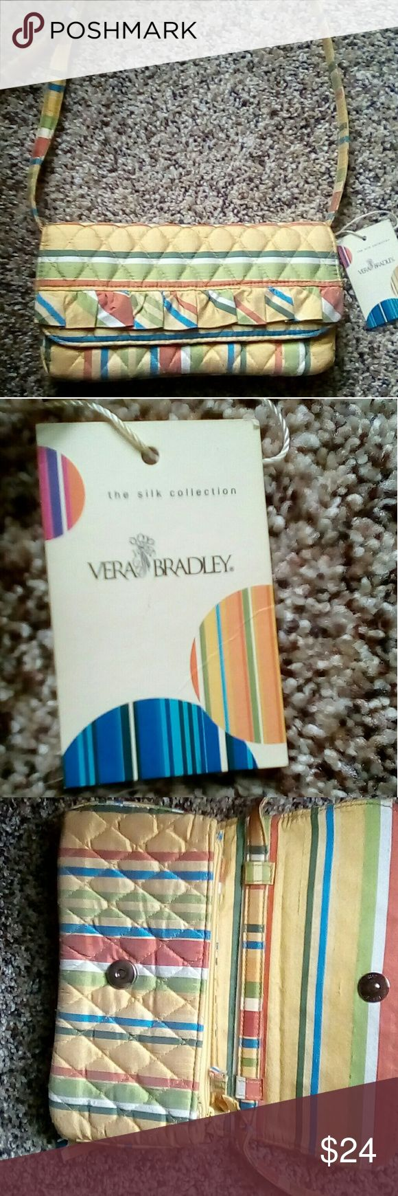 Vera Bradley Clutch Vintage Satin Multi Color Clutch by Very Bradley Vera Bradley Bags Clutches & Wristlets