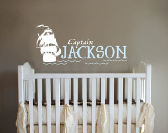 Pirate baby room