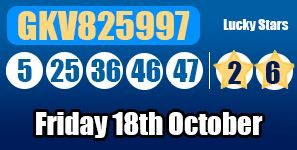 Another game without a jackpot winner, this means the next Euromillions draw will be a rollover! http://euromillionshub.com/euromillions-results-18th-october/