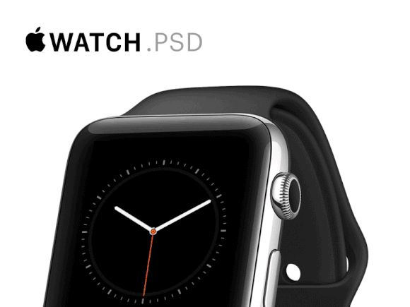 Mobile Design Inspiration - Apple Watch Mockups [PSD] by Ramotion Download...