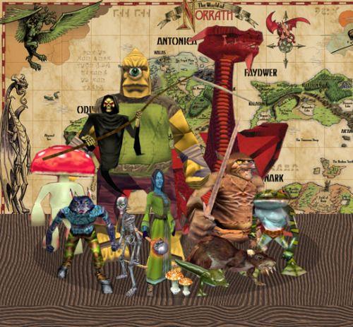 My Favorite EverQuest Characters • Fungusman, Innothule Swamp