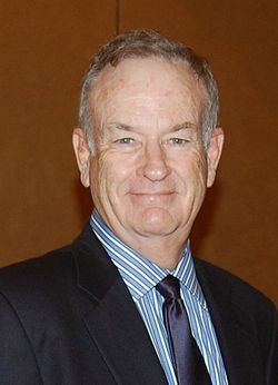 """William James (Bill) O'Reilly at the World Affairs William James """"Bill"""" O'Reilly, Jr. (born September 10, 1949) is an American television host, author, historian, syndicated columnist, political commentator.[2] He is host of the political commentary program The O'Reilly Factor on the Fox News Channel.[3][4][5] During the late 1970s through the 1980s, he worked as a news reporter for various local television stations in the United States eventually going to CBS News and ABC News. From 1989 to…"""