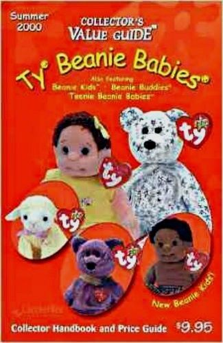 TY BEANIE BABIES COLLECTOR'S VALUE GUIDE- SUMMER 2000!