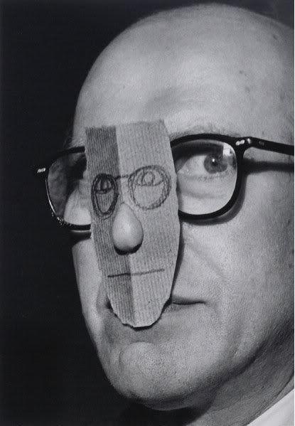 Inge Morath     Saul Steinberg     1956
