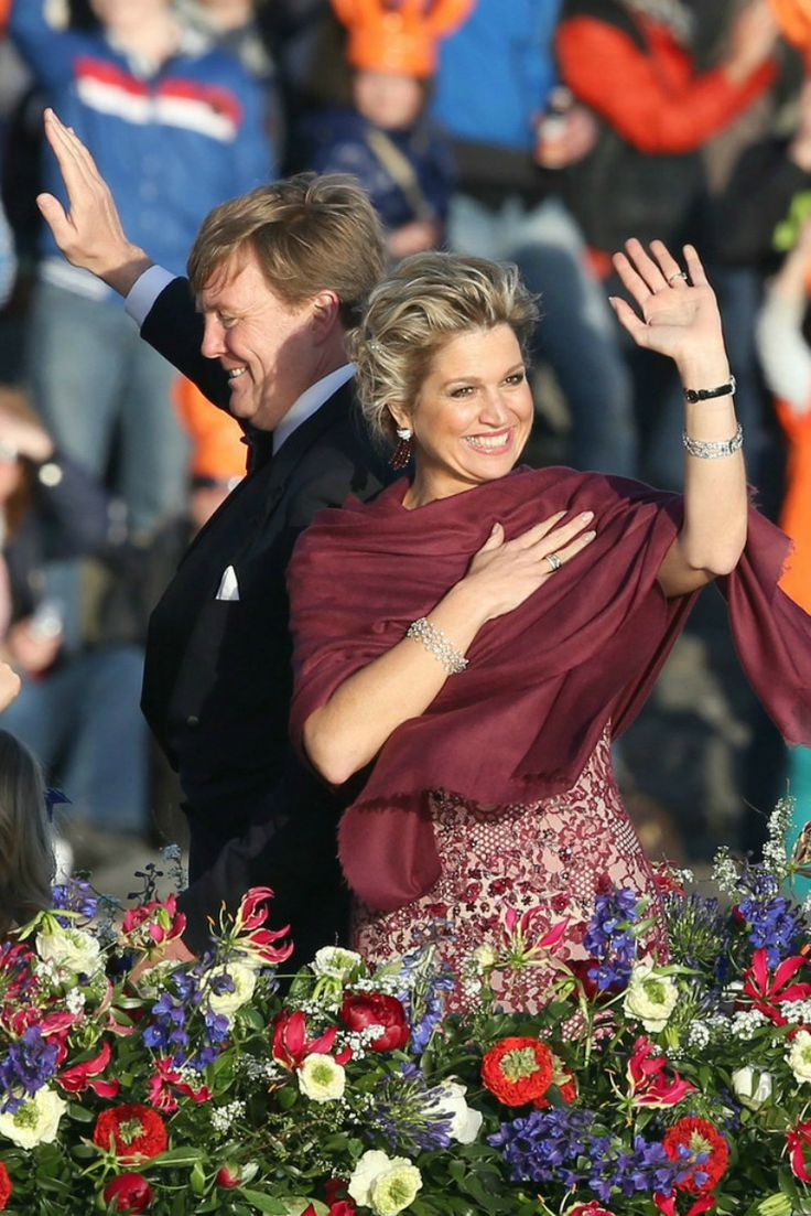 The new King and Queen of the Netherlands İNAUGURATİON OF KİNG WİLLEM ALEXANDER -WATER PAGEANT AND DİNNER 30.04.13