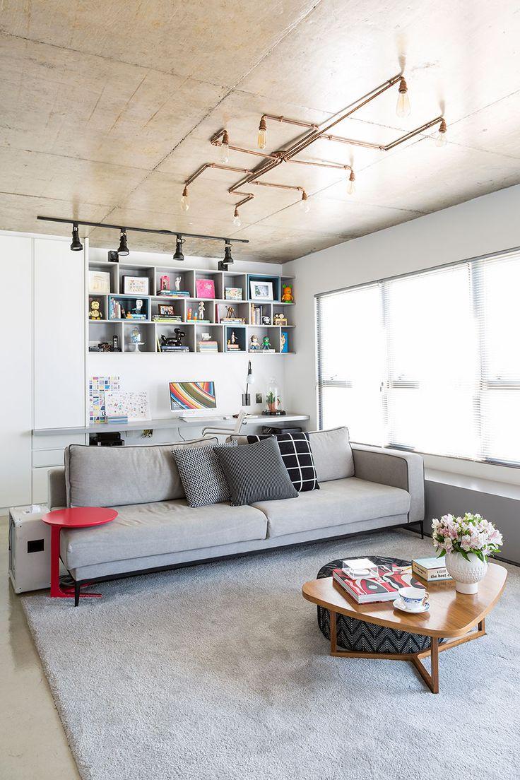 Vem cá ver várias dicas de decoração para apartamento de 70 a 90m². São dicas lindas de arquitetura de decoração para apartamentos pequenos.